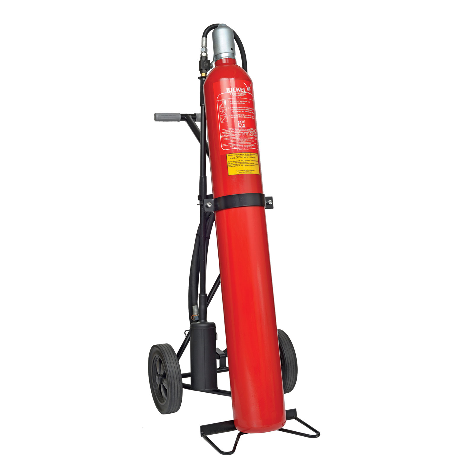 کپسول آتش نشانی جوکل CO2 چرخدار
