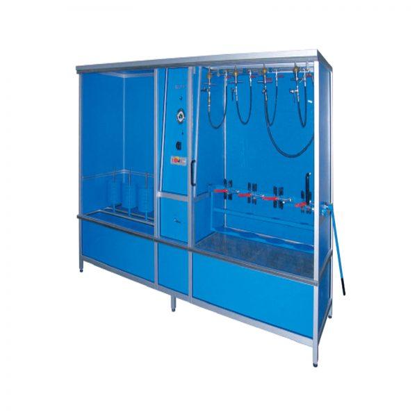 دستگاه هیدرواستاتیک و خشک کن سیلندر