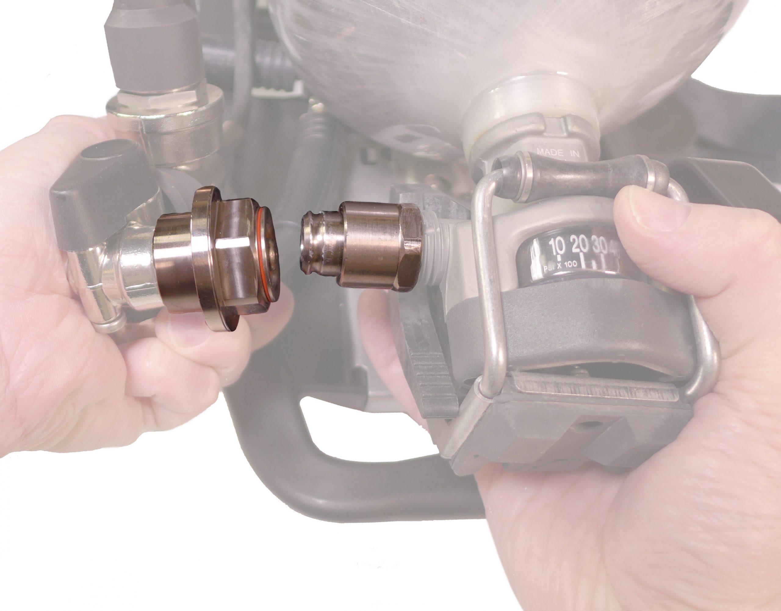 آدابتور اتصال سریع سیلندر به کوله پشتی CGA