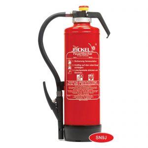 کپسول آتش نشانی جوکل 9 لیتری آب تحت فشار و کارتریج داخل