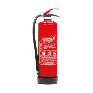 کپسول آتش نشانی جوکل پودری 6و12 کیلویی بالن داخل با شیر فشاری